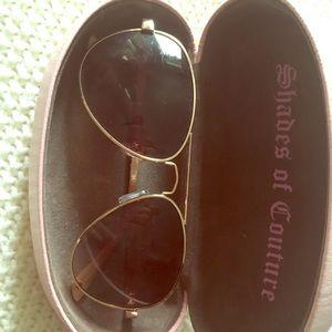 Juicy couture aviators glasses